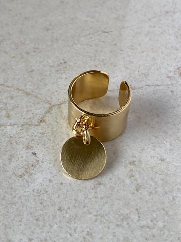 Кольцо Классик, позолота