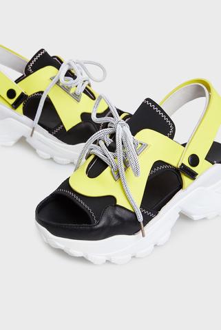 Женский желтые сандалии PRPY