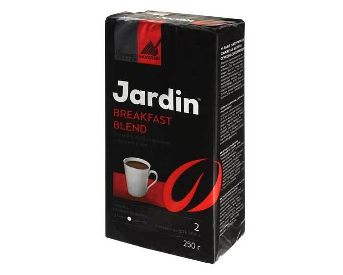 Кофе молотый Jardin Breakfast Blend, 250 г