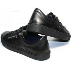 Мужская обувь для осени Ікос 1528-1 Black