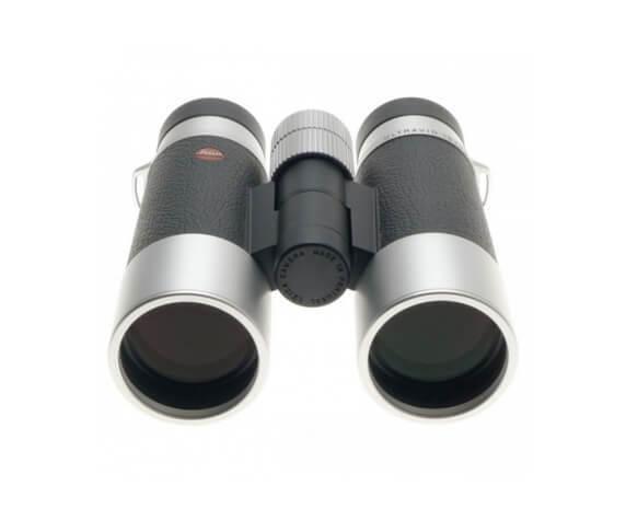 Бинокль Leica SilverLine 10x42, кожа, серебристый корпус - фото 2