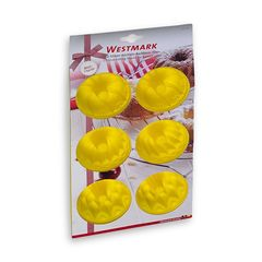Форма для 6-ти маффинов, силикон, цвет-желтый, серия Silicone, 3017227Y, Westmark, Германия