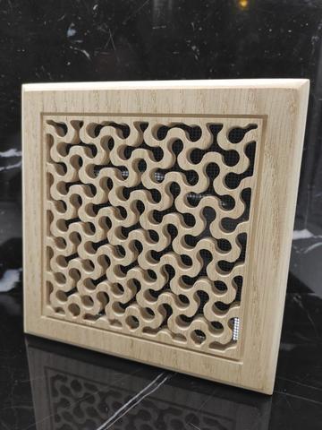 Решетка декоративная деревянная на магнитах Пересвет К-19 150х150мм