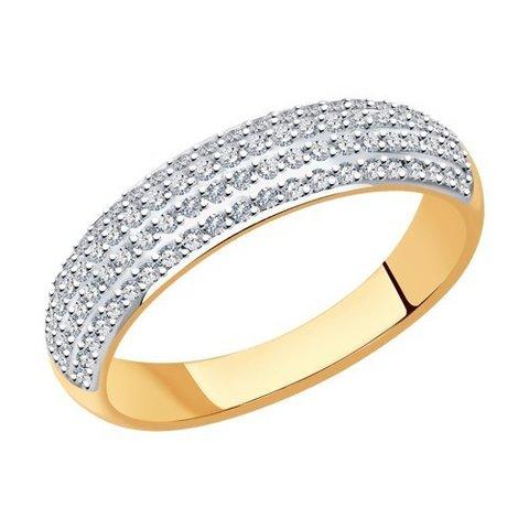 1012175 - Кольцо из золота с бриллиантами