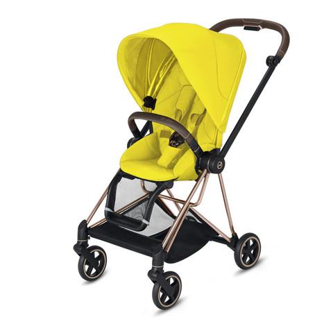 Прогулочная коляска  Cybex Mios Mustard Yellow rosegold