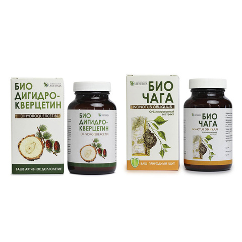 БиоДигидрокверцетин + БиоЧага