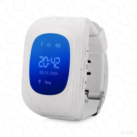 Детские часы телефон Smart Baby Watch Q50 с GPS цвет на выбор