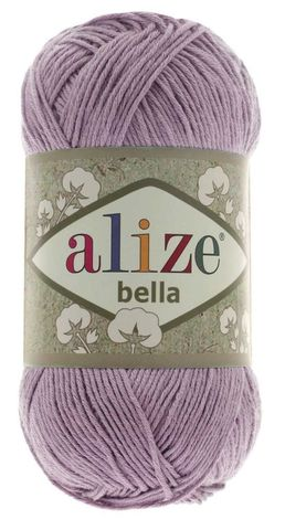 Пряжа Alize Bella 505 пыльная сирень