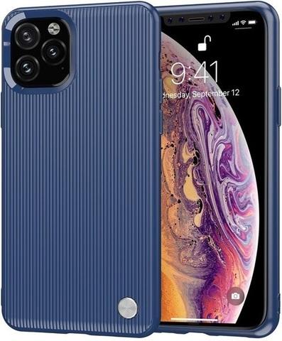 Чехол для iPhone 11 Pro Max цвет Blue (синий), серия Bevel от Caseport