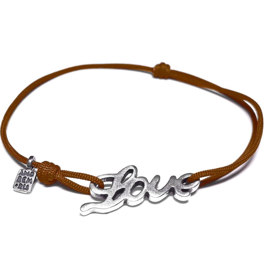 Bracelet Love, sterling silver