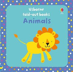 Animals (fold out board book)