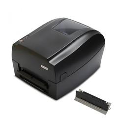 Купить Термотрансферный принтер с отделителем этикеток Mertech MPRINT TLP300 TERRA NOVA RS232-USB, Ethernet Black, 203 dpi, термопечать, ширина 108 мм, 1D/2D, Честный Знак, ЕГАИС, QR-код, Bartender