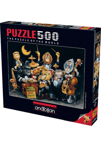 Puzzle The New Nairobi Jazz Band 500 pcs