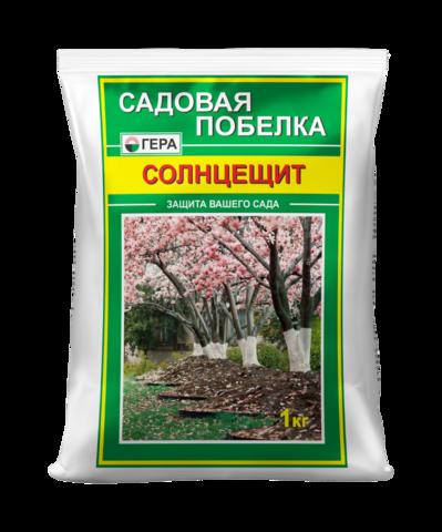 Садовая побелка Гера Солнцещит 1кг