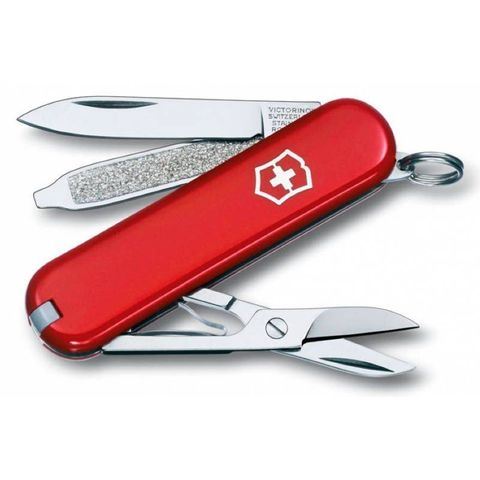 Нож Victorinox Classic (0.6223) 58мм 7 функций красный