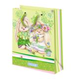 Подарочный пакет Зайка Ми Цветы (средний)