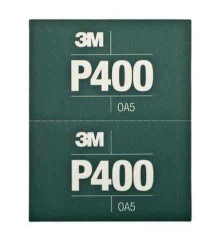 3М Лист Hookit™ абразивный, гибкий, Р400, 170мм х 140мм 34337