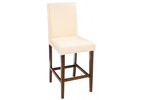 Барный стул Verden 42*42*103 Орех /Бежевый