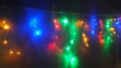 Бахрома домашняя светодиодная 3*0,5м 80LED мульти