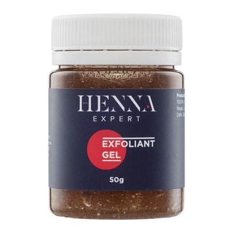 Скраб гель с миндальной крошкой Henna Expert