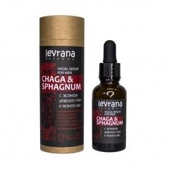 Сыворотка для лица Чага и сфагнум, 30 ml. ТМ Levrana