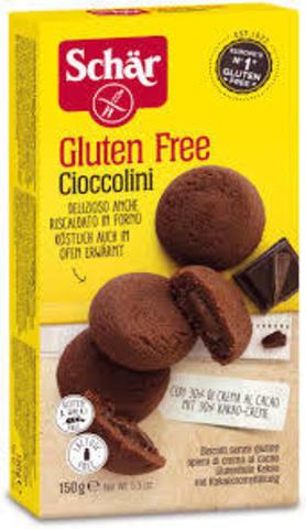 Печенье (Cioccolini) Чоколини 150г б/глютен б/лактоз Schar