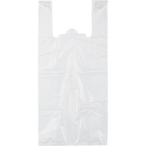 Пакет-майка на бутыль 19 литров Знак Качества ПНД прозрачный 18 мкм (32+20x68 см, 100 штук в упаковке)
