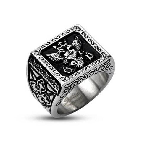 Перстень мужской с гербом