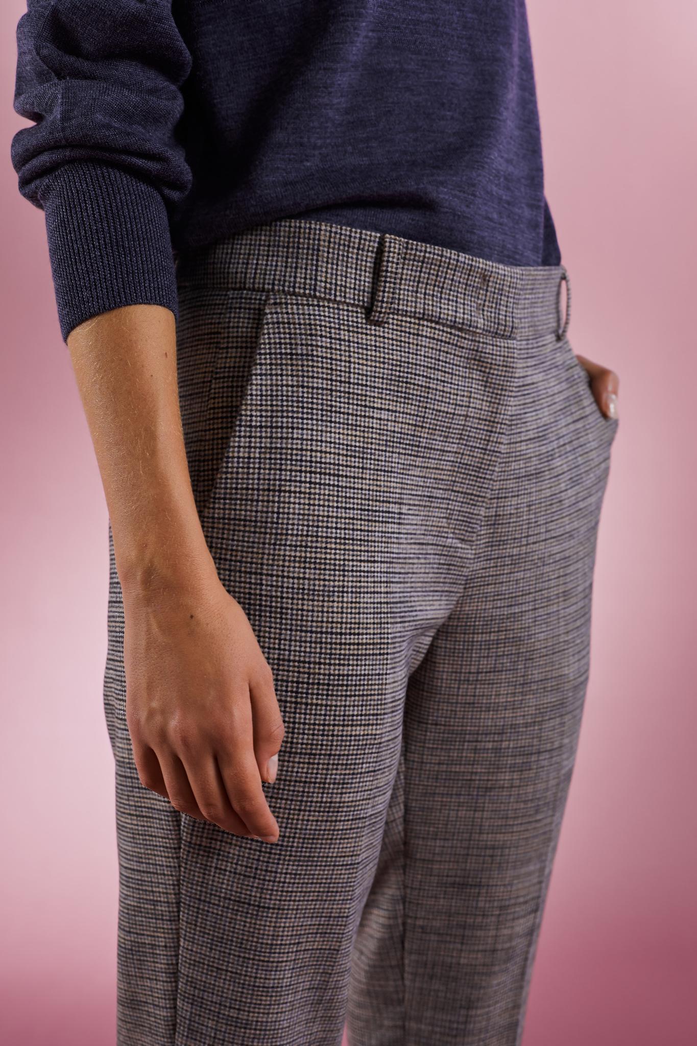 JEREMIAH - Прямые брюки в клетку