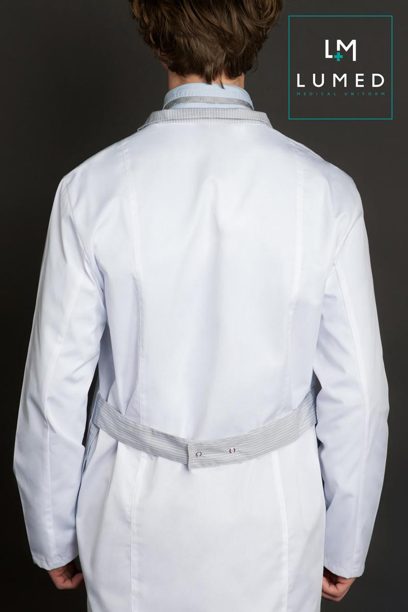 Медицинский халат Lumed мужской