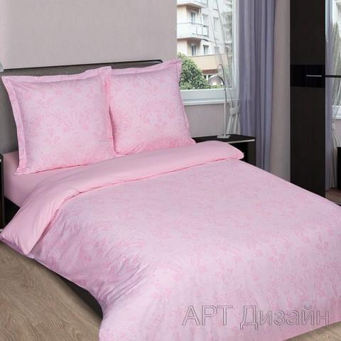 Поплин 220 см 115 г/м2 10115/3 Грация цвет розовый