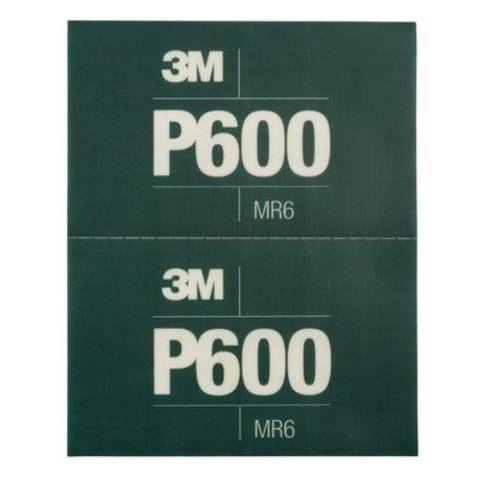 3М Лист Hookit™ абразивный, гибкий, Р600, 170мм х 140мм34339