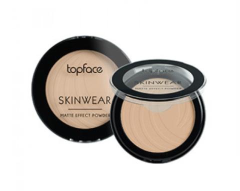 TopFace Пудра матовая Skinwear Matte Effect тон 04, песочный - РТ265 (10 г)