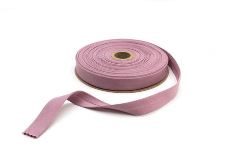 Бейка косая х/б,20 мм, розовая лаванда