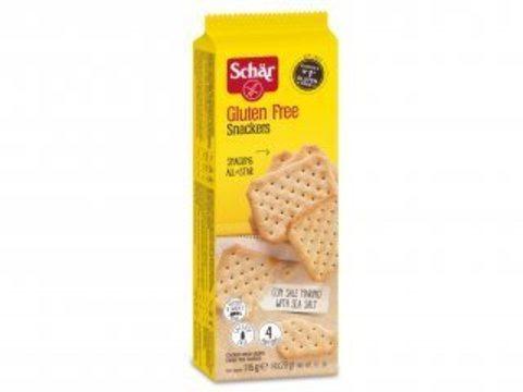 Крекеры Snackers 115г б/глютена б/лактозы Schar