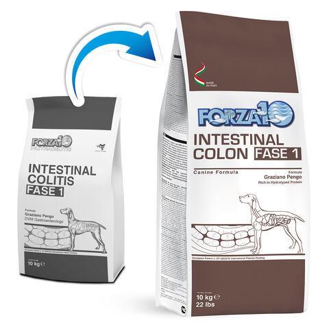 купить FORZA10 ActiveLine DOG Intestinal Colitis Fase 1 сухой корм для взрослых собак всех пород с хроническим расстройством желудочно-кишечного тракта