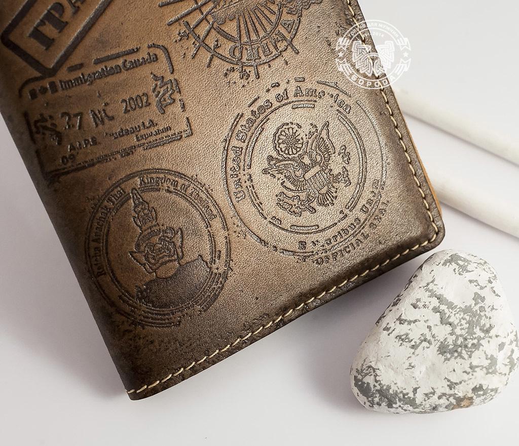 BY14-02-05 Обложка на паспорт с тиснением «Гражданин» фото 03