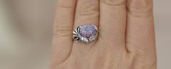 Аэлита (кольцо + серьги из серебра)