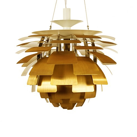 Подвесной светильник PH Artichok by Louis Poulse D60 (шампань)