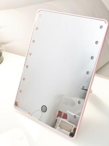 Зеркало с подсветкой (Large LED Mirror Rose) 22х16  (уценка)