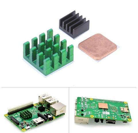 Комплект радиаторов для Raspberry Pi 2/3 В/3 В+