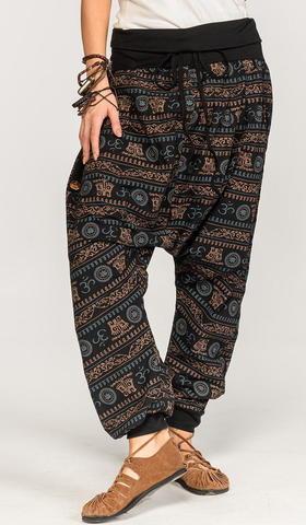 Тайские штаны с орнаментом Конофитум
