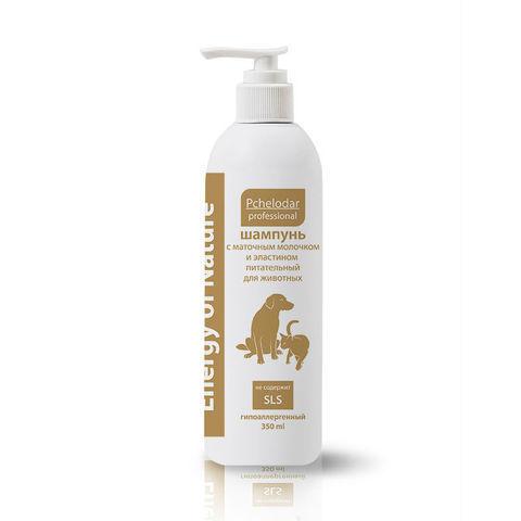 купить Пчелодар Energy of Nature шампунь питательный с маточным молочком и эластином для собак и кошек