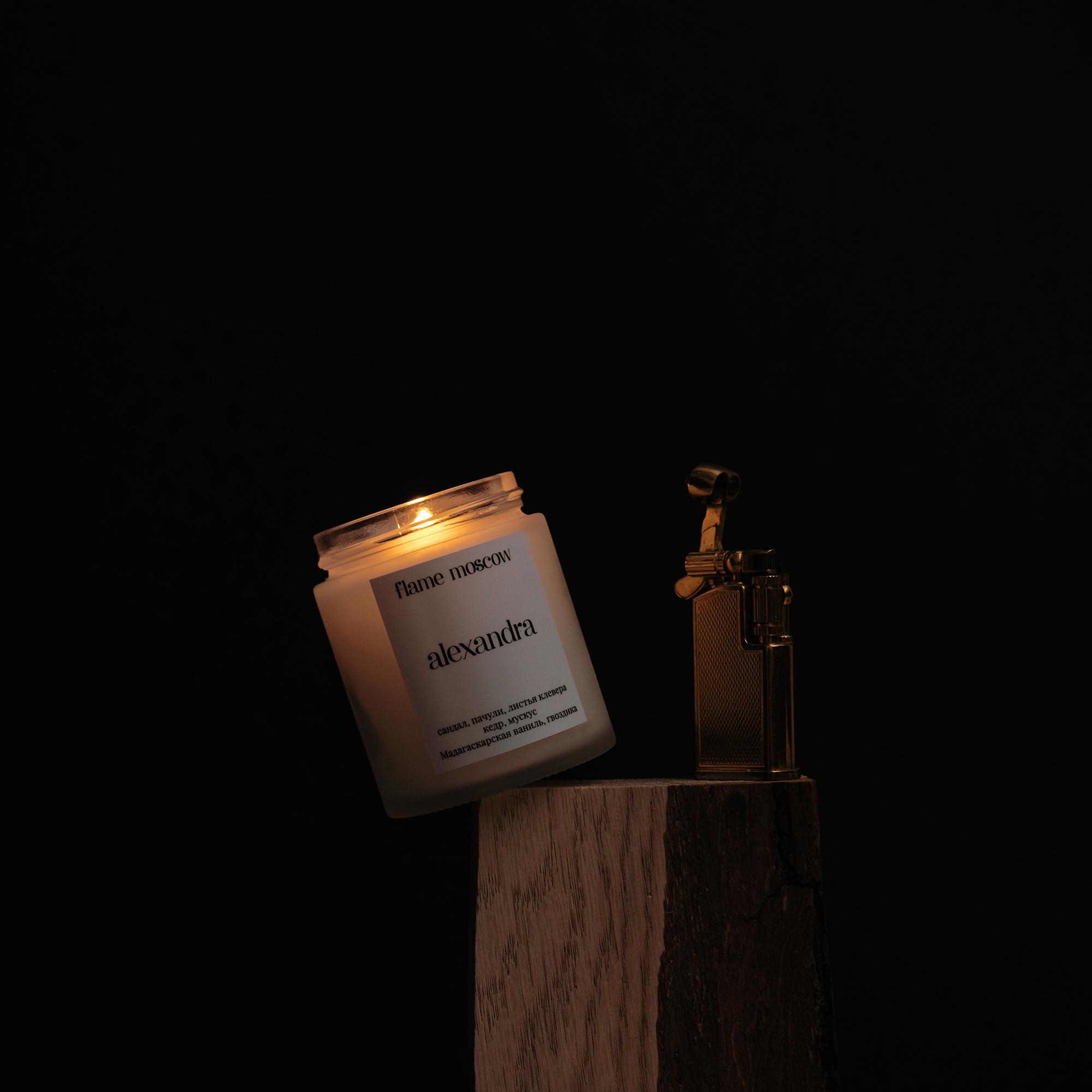 Cвеча матовая Alexandra