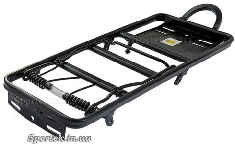 Багажник алюмінієвий з пружиною (35 х 12.5 см)