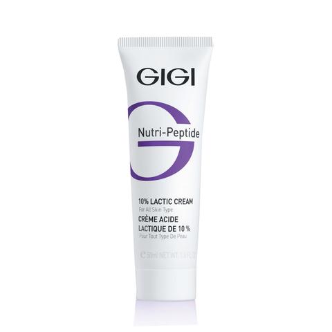 GiGi Nutri-Peptide 10% Lactic cream крем с молочной кислотой, 50 мл