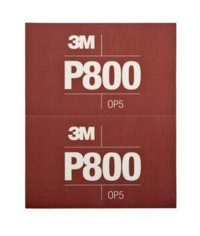 3М Лист Hookit™ абразивный, гибкий, Р800, 170мм х 140мм 34340