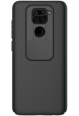 Чехол для Xiaomi Redmi Note 9 от Nillkin серии CamShield Case с защитной крышкой для камеры