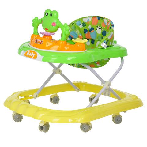 Ходунки 8 силиконовых колес, игрушки, музыка