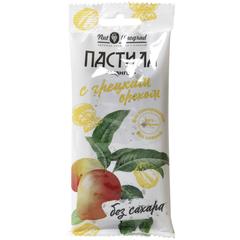Пастила фруктовая из Манго с грецким орехом, 50 г